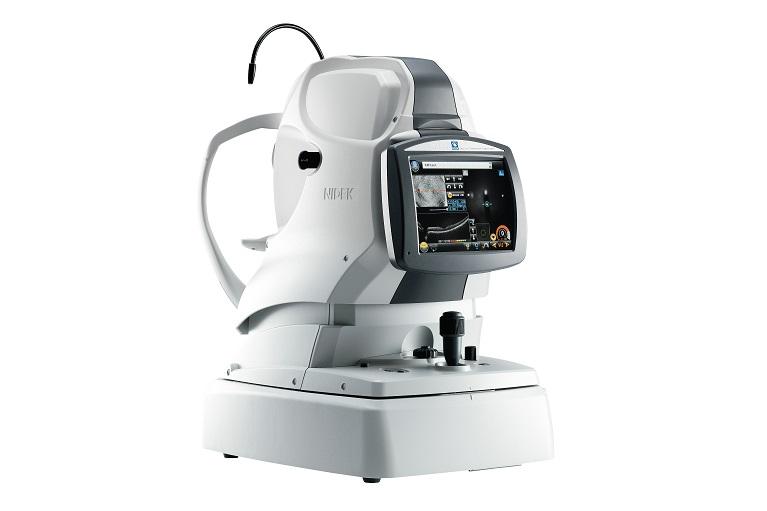 眼底カメラ付き光干渉断層計