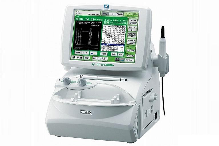 超音波眼軸長/角膜厚測定装置