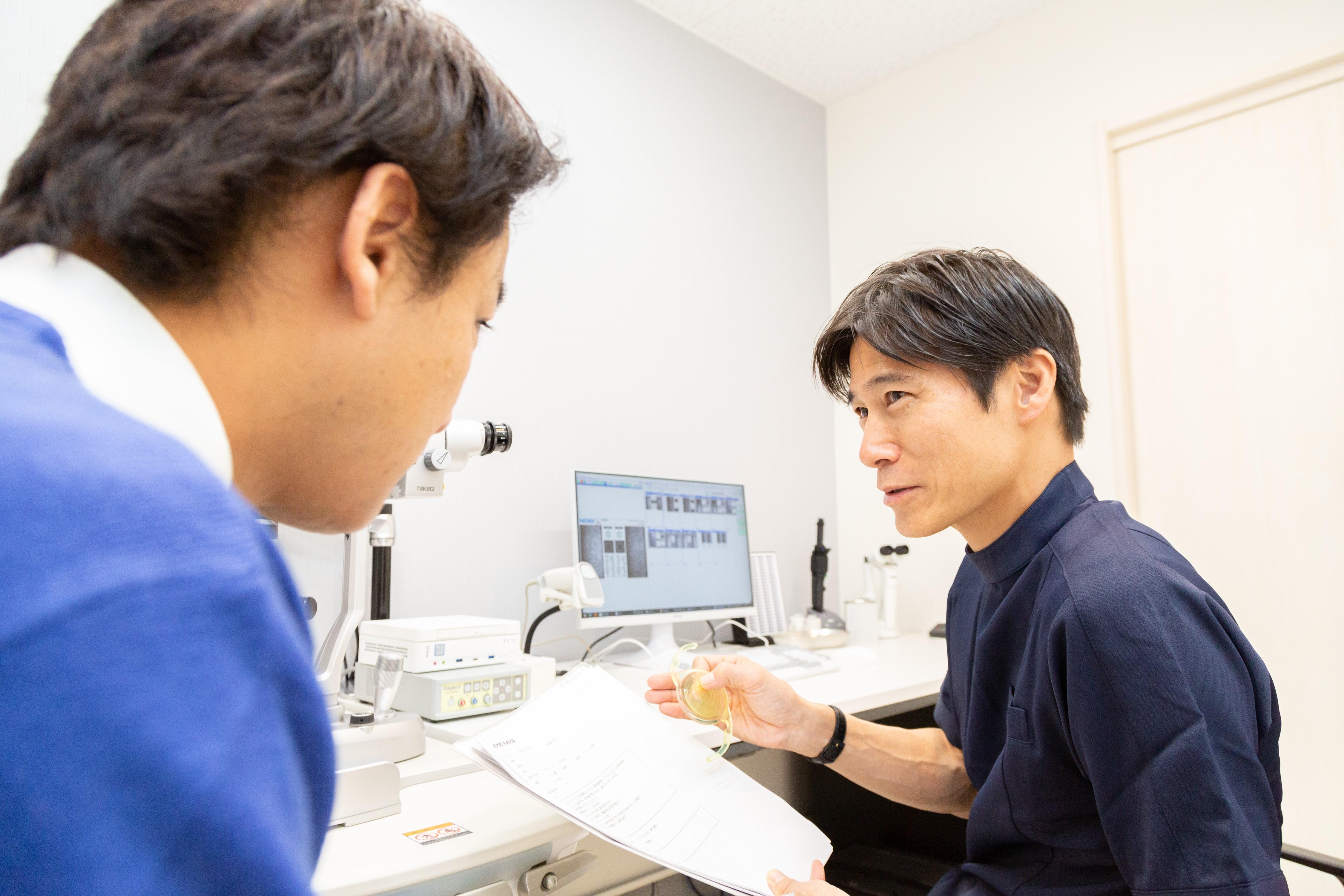 患者様とよく相談して眼内レンズを選択